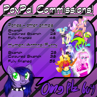 PayPal Commish Info by blup-chan