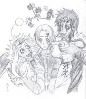 D.Gray-man crack drawing by Frozen-lullaby