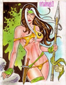 SAVAGE LAND ROGUE by RODEL MARTIN (08172013) by rodelsm21