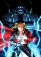 Elric Brothers by Jevi93