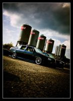 Jetta MK3 Golf Front by Andso