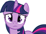 Sad Twilight Sparkle by uxyd