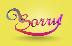 sorry by Jamedkhan
