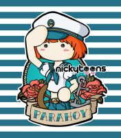 Paramore: Parahoy by NickyToons