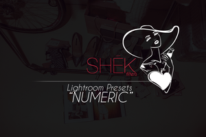 'Numeric' Photo Effects | Lightroom Presets by ShekFilters