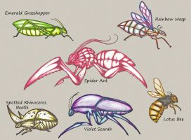 Insects by QuintinRWhite