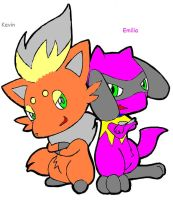 POKESONAS me and kevin 3 by CatzKittenz230