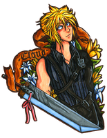 Cloud Strife Crest by Yaraffinity