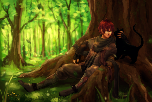 Forest Friendship by wawa711