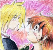 Lina and Gourry by Karu-Ck