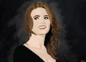 Stana Katic (Castle) by nono-xoxo