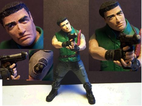 Chris Redfield by hatredtheblack