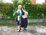 Tsunade and Shizune by JamieCool