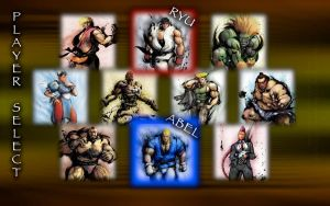 Select Player -SF4- Wallpaper by iFab