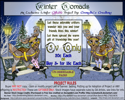 Winter Nomads Ovipet Banner by Crematia18