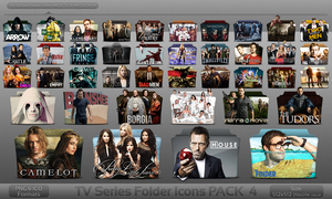 Pack 4 - TV Series Folder Icons by atty12