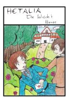 Hetalia-The Witch's House by BlackAndWhiteTiger