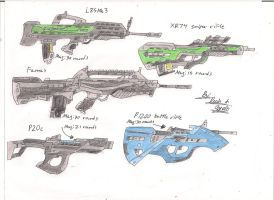 Star Fox Salvation modified weapons 7 by BlackKnife12