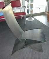 steel chair by MetalCreationZ