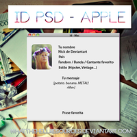 ID PSD - Apple by WhatTheHellResources