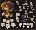 Pura Character Sheet by Nijicx