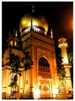 Sultan Mosque by BernZ