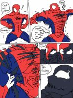 4 K Special: Spidey's Weigh-In 3rd Page by haggith