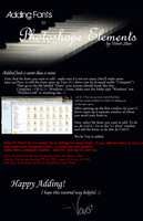 Adding Fonts to Photoshop by Velvet-Stain