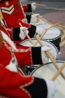 A row of drums by MICHAELHARRISON1990
