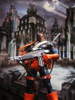 Deathstroke the terminator by DxeoMW