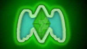 Emerald Background by ScootsNB