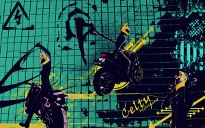 "Celty the ""Headless Rider"" by ellocochon8"