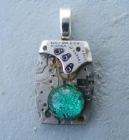 Heart of the Tinman II Pendant by Create-A-Pendant