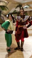 Toph and Azula 2 by Qyandri