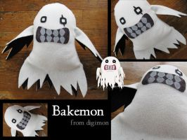 Bakemon Plushie - Digimon by plooshieS2