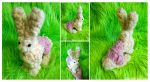 Brain Bun felted OOAK by ZombieHun