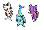 Aquatic Kittens - Name Your Price! - CLOSED by fox-cubed