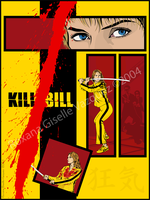 KILL BILL :Comic style: by Un-divine