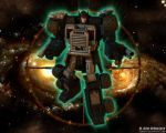 Nemesis Prime Descends by Venksta