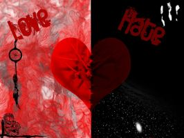 Love vs Hate by coolthang