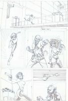 Danger girl page by Hyperdogproductions