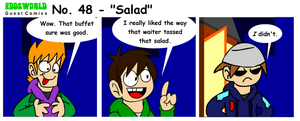 EWGUESTCOMIC No. 48 - Salad by SuperSmash3DS