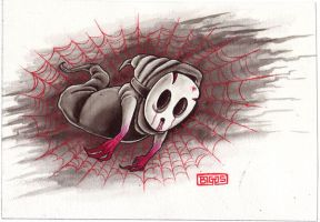 shy guy ghost by mr-biggs