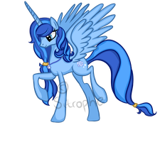 Pony Request: Shelly Blue by Sitrophe