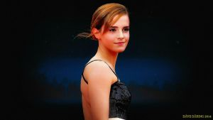Emma Watson Night Beauty V2 by Dave-Daring
