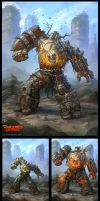 Warlords: Art of War - Golem by DevBurmak