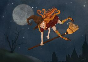 Bewitched- Lilizia by childrensillustrator