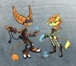 Some Silly Lombax es by COOKEcakes