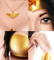 wonder woman_detail by pitikjowo