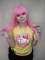 Scene Pink Candy Hair Girl by cherrybomb-81